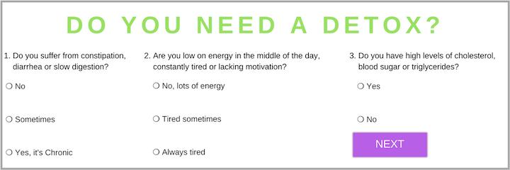 Do you need a detox?